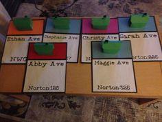 Monopoly Door Decs with 3-D houses