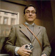 William Eggleston with his Leica