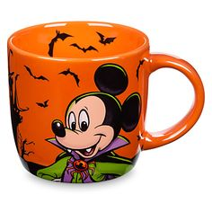 Mickey Mouse Halloween Mug   Disney Store
