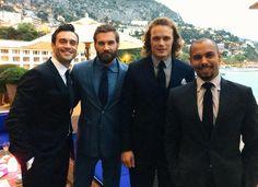 """@DanielGoddard: When #TheYoungAndTheRestless #Vikings & #Outlander meet in Monaco #YR #mc2015 ""Rollo & Jamie 2gethr."