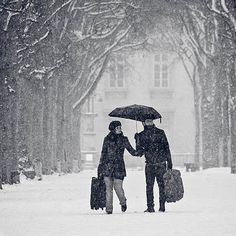 Girls Guide to Paris pic of Winter in Paris