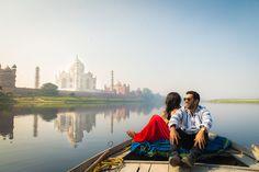 A trip to Taj Mahal Agra