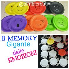 Il MEMORY Gigante delle EMOZIONI Baby Games, Games For Kids, Kindergarten, New Classroom, Emotional Development, Indoor Games, Fun At Work, Kids And Parenting, Mini Albums