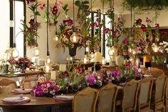 Decoração de casamento em tons de rosa no Jockey Club do Rio de Janeiro - Constance Zahn | Casamentos