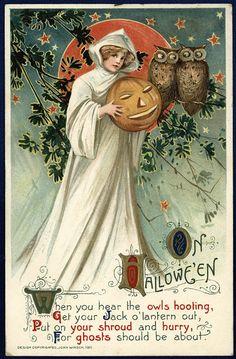 ■ VINTAGE BLOG...      John Winsch 1911: Halloween