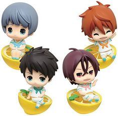 Eternal Summer Kigurumi Key chain Figure Vol 2 Set of 4 Takara Free