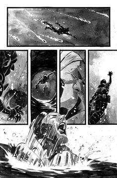 BLACK SCIENCE #1 - page11 - INKS by MatteoScalera on DeviantArt