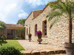 Fachada imitacion piedra : Revestimientos de paredes y suelos de PREFABRICADOS ARQUE SC