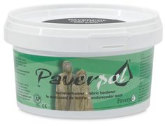 Paverpol is the leading textile hardener and fiber sculpting medium in the world, and the only one awarded the AP non-toxic seal by the Arts and Creative Materials Institute (ACMI). To use, dip natural materials, such as textiles, in Paverpol. Drape or wrap the material around a wire figure or other armature and allow it to dry. Paverpol dries quickly, but slowly enough to allow plenty of working time.