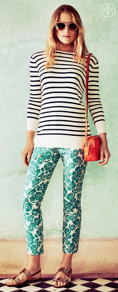 The Magpie Mix | Tory Burch Summer 2013