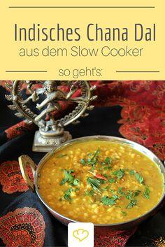 Indisches Chana Dal aus dem Slow Cooker - ein Feuerwerk der Aromen! Soulfood Pur!