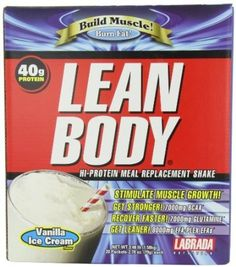 Labrada Nutrition Lean Body Meal Replacement Vanilla 20 Pack >>> Continue to the product at the image link-affiliate link. #ProteinDrinks
