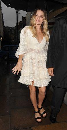 Margot Robbie - Arriving at Lou Lou's nightclub on June 26