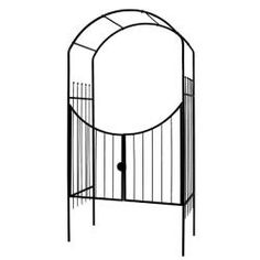 Gardman R356 The Savannah Arch and Gate | Overstock.com Shopping - Great Deals on Garden Accents
