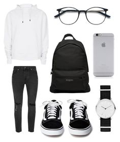 """Untitled #100"" by wleners on Polyvore featuring Topman, Skagen, Native Union, Balenciaga, men's fashion and menswear"