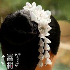 Iridescent Plum and Chrysanthemum Blossom Wedding by AtelierKanawa, $59.99