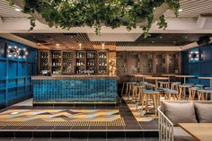 Bar at The Garden Pavilion by Paul Kelly Design