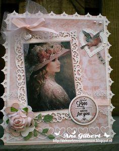 Hallo Allemaal, vandaag één dag voor Valentijnsdag, nog maar een Love kaartje gemaakt, het mooie DP van SL heb ik ooit eens gewonnen, ook...