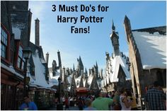3 Must Do's for HP Fans