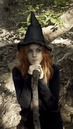 """Magick Wicca Witch Witchcraft: """"Forest #Witch,"""" by kozyafffka, at deviantART."""