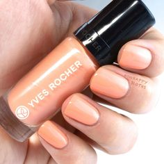 Yves Rocher Summer Creations 2015 Collection Nail Lacquers: Review and Swatches [soft coral]