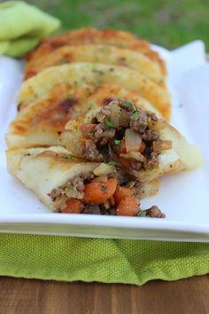 Paleo Empanadas (grain free, nut free, dairy free, gluten free, nightshade free, suitable for AIP) - Predominantly Paleo
