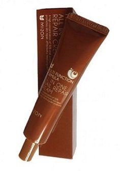 Mizon® - Allin One Snail Repair Cream - Anti Wrinkle - Multi Function Formula - http://best-anti-aging-products.co.uk/product/mizon-allin-one-snail-repair-cream-anti-wrinkle-multi-function-formula/