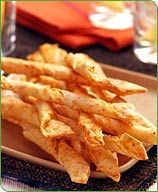 Easy, quick, and healthy parmesan twists from WW