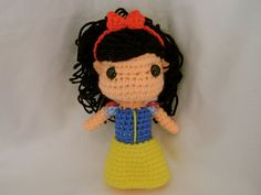 Snow White Crochet doll
