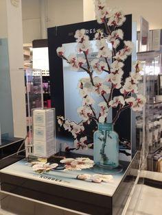 Stand #Korres στο Διεθνή Αερολιμένα Αθηνών @hellenicdutyfreeshops Almond blossom!