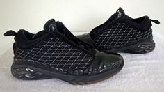 2008 Nike Air Jordan XX3 Low 23 Blk/Dark Charcoal/Silver Mens 323405-071 Sz 11.5 #Nike #BasketballShoes