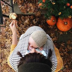 """This Solly wrap was made for me!!!   """"Everything on my fall checklist in one photo. @oldjoy has got this season down."""""""