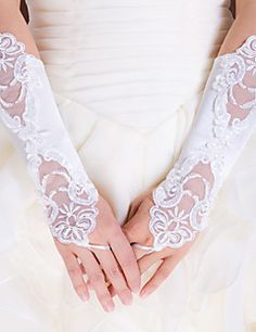 Elastic Satin Elbow Length Wedding/Party Glove. Get awesome discounts up to 70% Off at Light in the Box using Coupons.