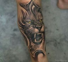 lion tattoo powerful - Google Search