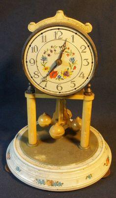 1960s West German Made Eurena Electric Pendulum Clock