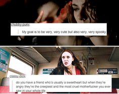 Wanda Maximoff<<<these text posts just made me realize that I'm sorta like Wanda...idk if that's good or bad...I think it's good...