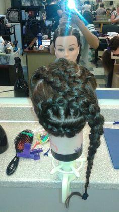 Braid style Braid Styles, Braids, Dreadlocks, Hair, Beauty, Bang Braids, Beleza, Cornrows, Dreads