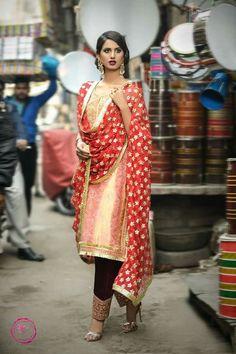 indian fashion Modern -- Click Visit link for Pakistani Couture, Pakistani Outfits, Indian Outfits, Punjabi Fashion, Ethnic Fashion, Indian Fashion, Indian Attire, Indian Wear, Punjabi Dress