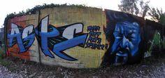 Bud Spencer graffiti character