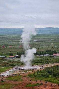 Iceland, Geysir Area