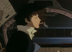 A few Anime id recommend watching – Cowboy Bebop Cigarette Aesthetic, Film Aesthetic, Aesthetic Images, Aesthetic Anime, Old Anime, Manga Anime, Anime Art, Cowboy Bebop Anime, See You Space Cowboy