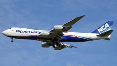 Boeing 747-8KZF/SCD - Nippon Cargo Airlines - NCA