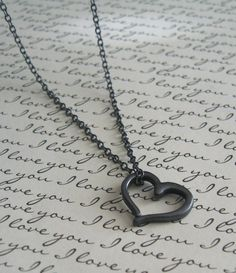 Lonely heart necklace