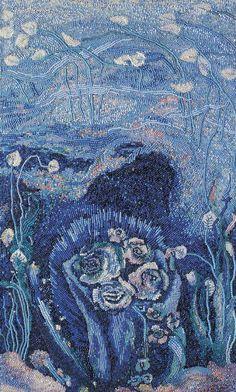 Бисерная мозаика Валентины Паренько | Bead mosaic by Valentina Parenko | http://www.animalist.ru/?action=show_article&article=uchitel