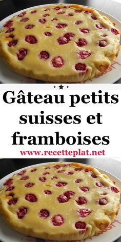 Dessert Light, Dessert Original, Pie, Cooking Recipes, Raspberry Cake, Torte, Cake, Fruit Cakes, Pies