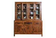 Crockery Unit: Buy Wooden Crockery Cabinet Online Upto OFF Crockery Units, Crockery Cabinet, China Cabinet, Kitchen Cabinets Models, Wooden Kitchen Cabinets, Wooden Street, Units Online
