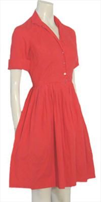Vintage Laure Lynn 50s Dress.This is the style of dress my mom always wore. <---- love this cut/style. So classy.