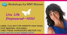 Empowerment Workshops for Women in WNY REGISTER NOW https://www.eventbrite.com/e/3-empowering-workshops-for-you-to-align-with-prosperity-happiness-now-tickets-12070783037