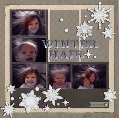 Winter Hair - Scrapbook.com