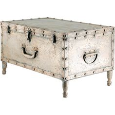 I pinned this Avanley Trunk Table from the Jansen & Brown event at Joss and Main! Showcase objets d'art or a charming vignette with this stylish display, an eye-catching addition to your living room, library, or master suite.